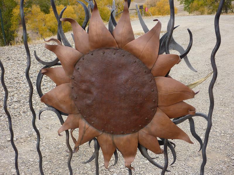 gate-sun-and-copper-rust
