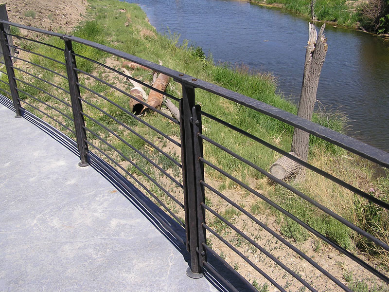 forged-handrail-flat-powder-coat