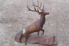 forged-and-fabricated-elk-sculpture
